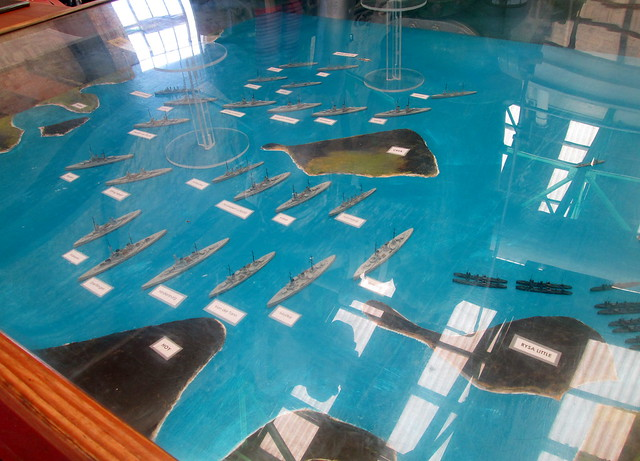 More of Model of Scapa Flow, Lyness Naval Museum