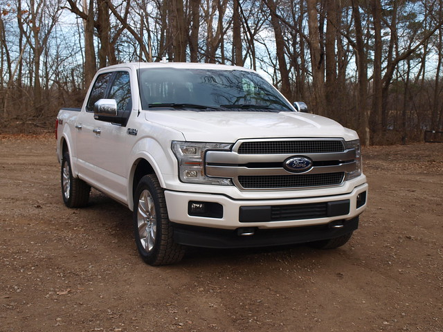 2018 Ford F-150 SuperCrew 4X4 Platinum