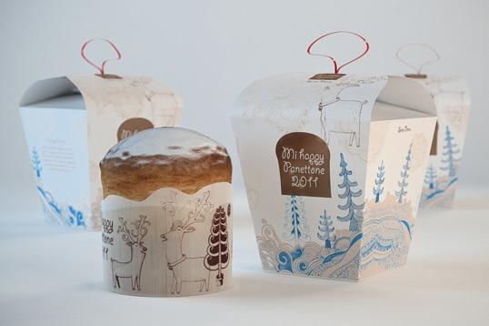 30 Ý tưởng thiết kế bao bì Giáng Sinh dành cho Designer