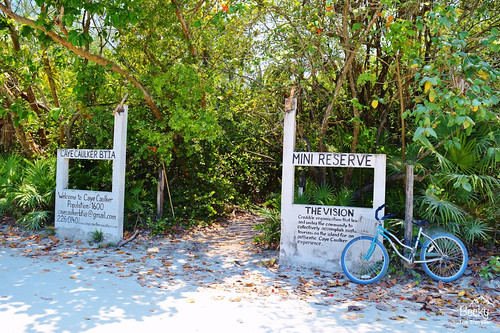 Caye Caulker Belize - exploring Caye Caulker by bike