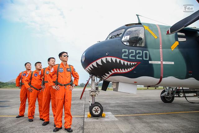 空軍P-3C型機成軍典禮
