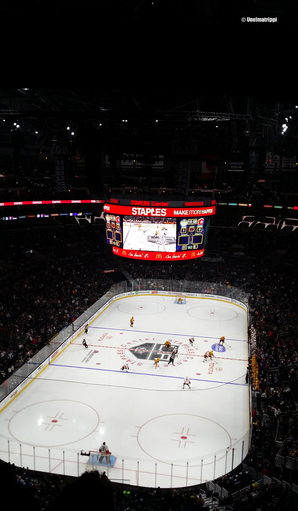 Staples Center, Los Angeles, Kalifornia, USA