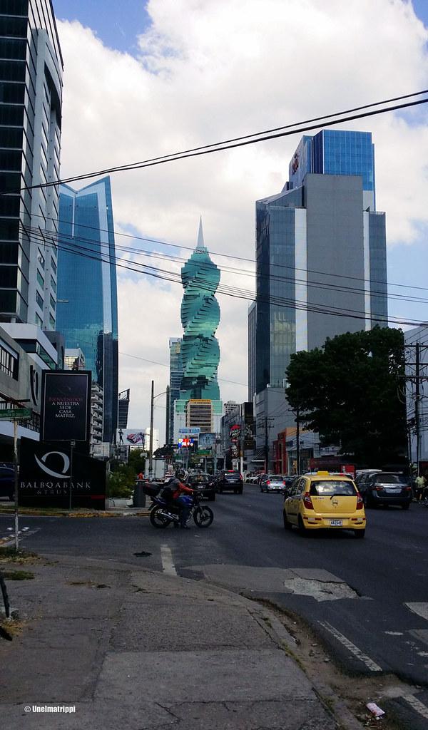 Pilvenpiirtäjiä Panama Cityssä