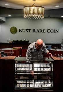 Rust Rare Coin