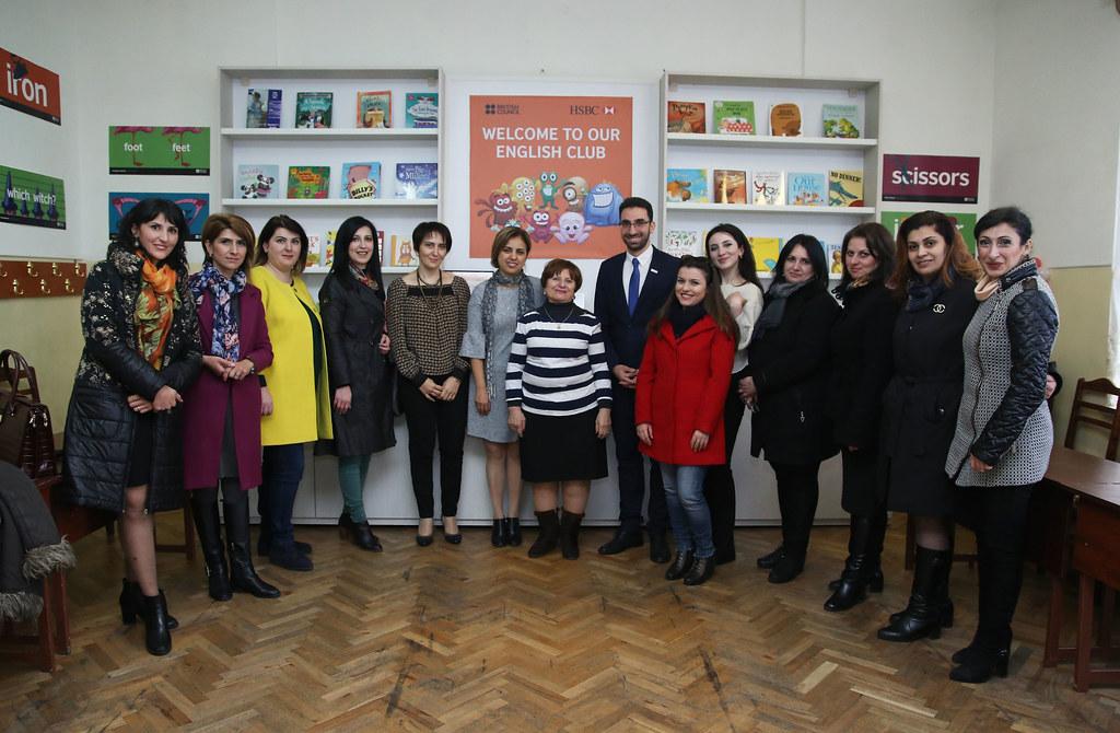 English Club Opening in Vanadzor | British Council Armenia | Flickr