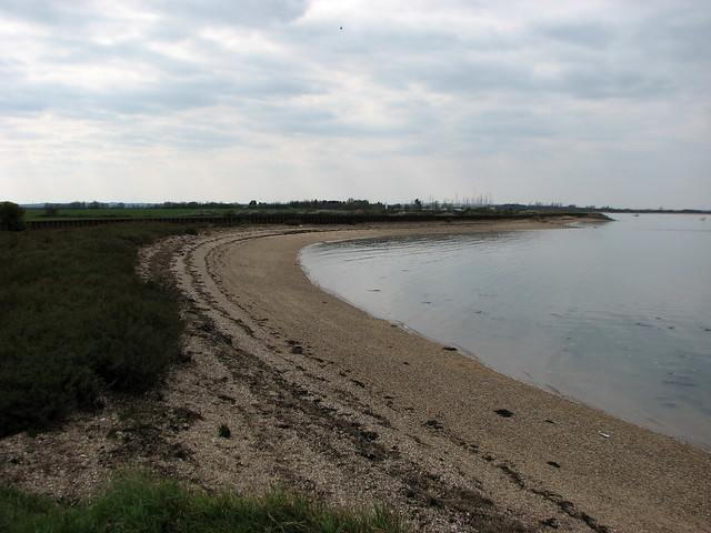 The beach at Ramsey Island
