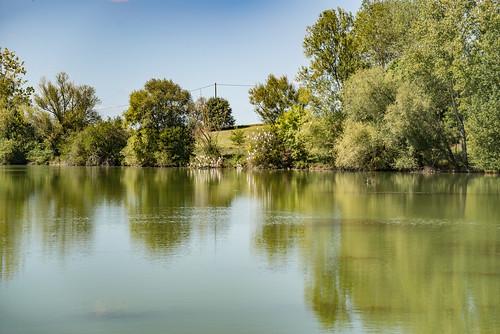 01-Lac de Magre et aigrettes blanches