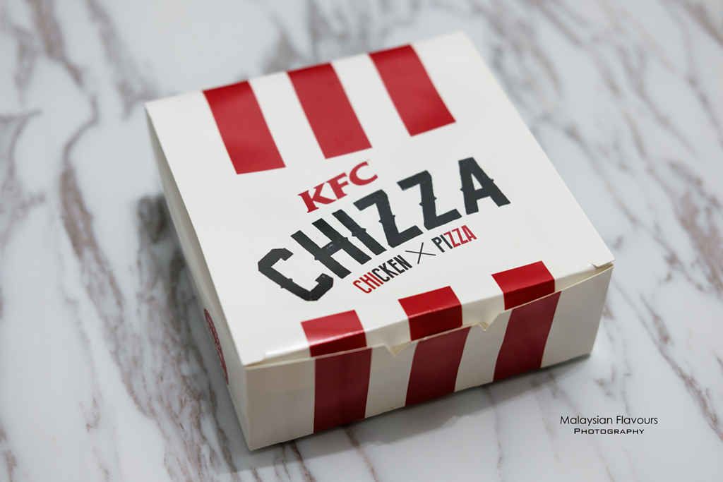 KFC Chizza Chicken Pizza