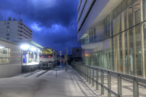 02-12-2017 Wakkanai Station (1)