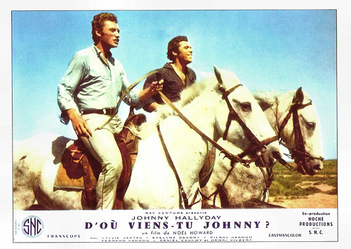 Johnny Hallyday in D'où viens-tu... Johnny? (1963)