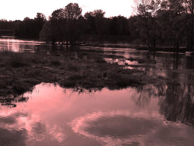 La Loire avant l'hiver.