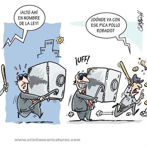 Caricatura Robón