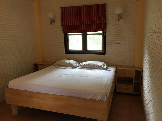 大きくて快適なベッド