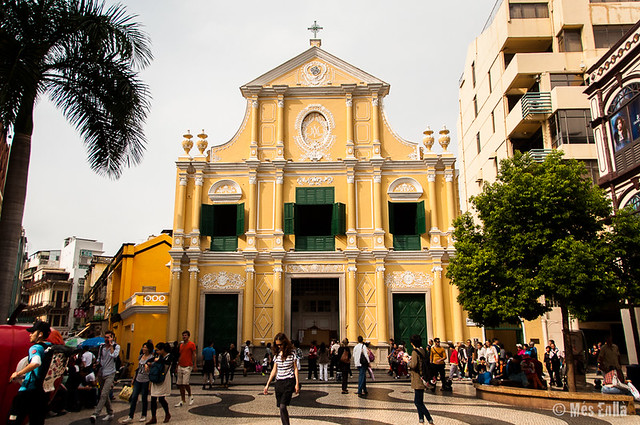 Iglesia de San Domingo en Macao