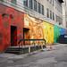 Bike Mural Laneway by jeffcbowen