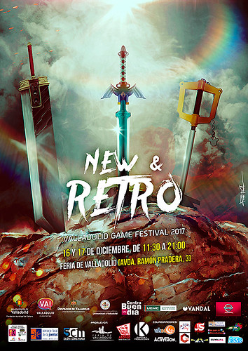 NEW & RETRO Valladolid GAME FESTIVAL 2017