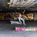 Skate park upon Thames