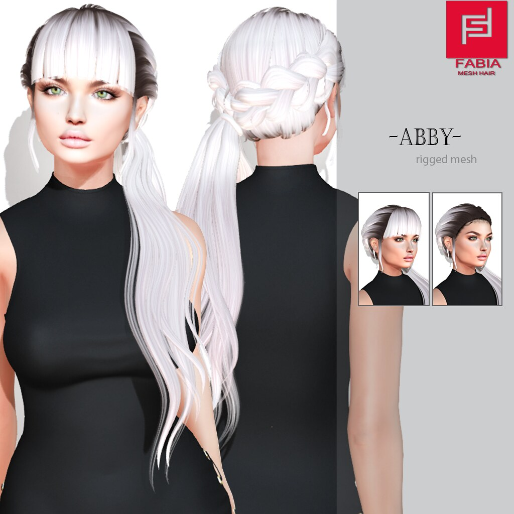 -FABIA- Mesh Hair   <Abby> - TeleportHub.com Live!