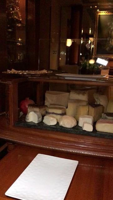 The cheese cart explained at 3* Michelin restaurant, La Pergola