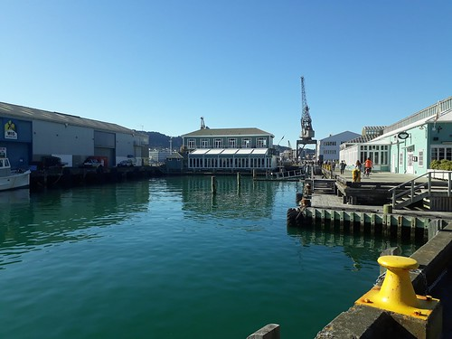 <p>Blisteringly beautiful day in Wellington today</p>