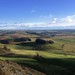 View from top of Lundie Crags, Perthshire