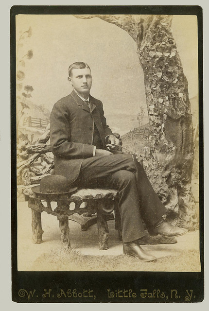 Cabinet Card seated man