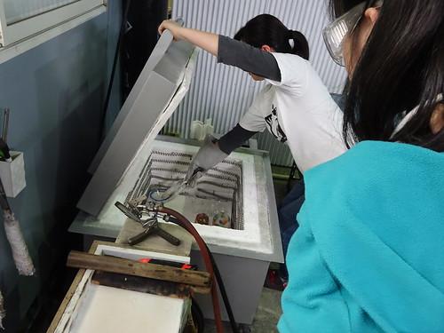 埼玉で吹きガラス体験・ガラス工房ゆばな