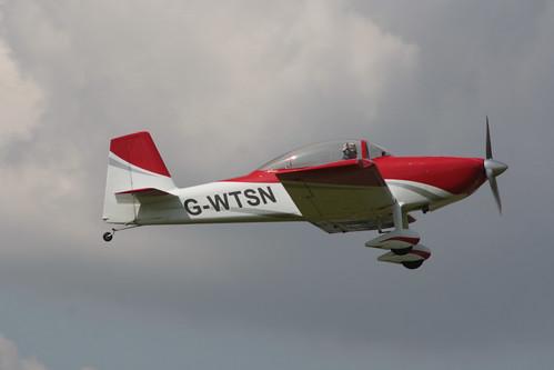 G-WTSN Van's RV-8 [LAA 303-14943] Sywell 020917
