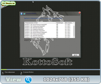 Сборка Windows 7 SP1 11 in 1 KottoSOFT (x86x64)