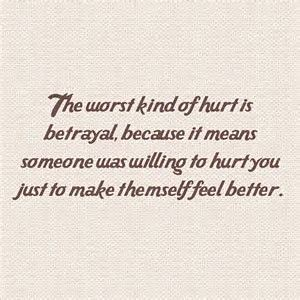 Sad Love Quotes : Image result for betrayal by family - #L ...