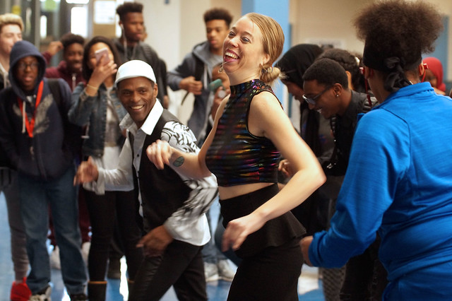 Cuban dancers visit HHS