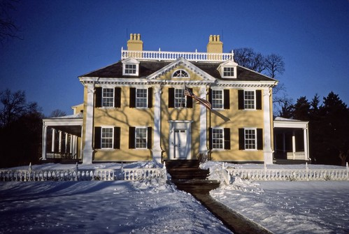 Longfellow House - Cambridge, Mass - Kodachrome - 1987