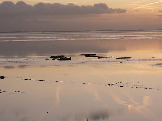 Dollard Bay sunset time, Panasonic DMC-FZ5