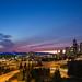 Seattle Sunset by Wizum