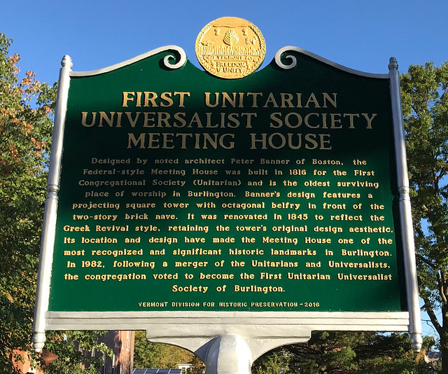 First Unitarian Universalist Society Meeting House