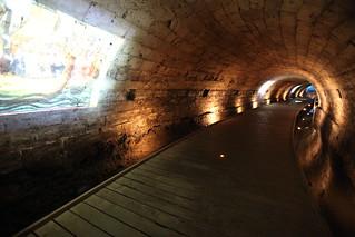 The Templars' tunnel, in Akko_Alla Laitus_ IMG_2410
