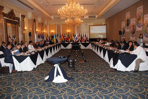 Delegados de la Reunión del Grupo de trabajo Ad-hoc de Agricultura Familiar y Desarrollo Rural de la CELAC
