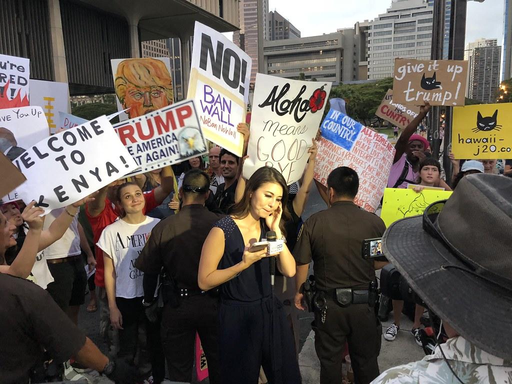 Hawaii 3, Trump 0