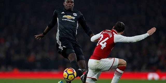 Paul Pogba Mengaku Tidak Mempunyai Niat Injak Hector Bellerin