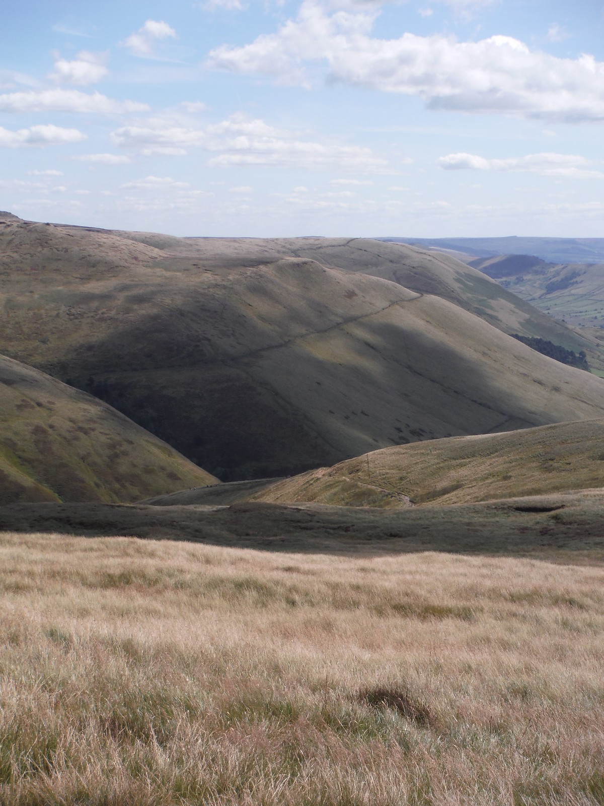 The Cloughs SWC Walk 303 - Edale Circular (via Kinder Scout and Mam Tor)