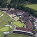 Ufford Park Golf Course in Suffolk - uk aerial image