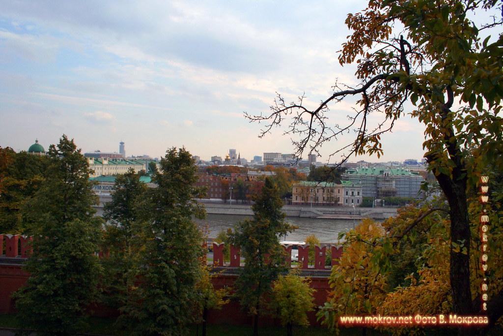 Вид на Москву из Кремля.