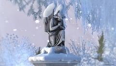 ANGEL IN WINTER WONDERLAND