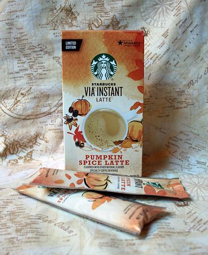 instant Pumpkin Spice latte!