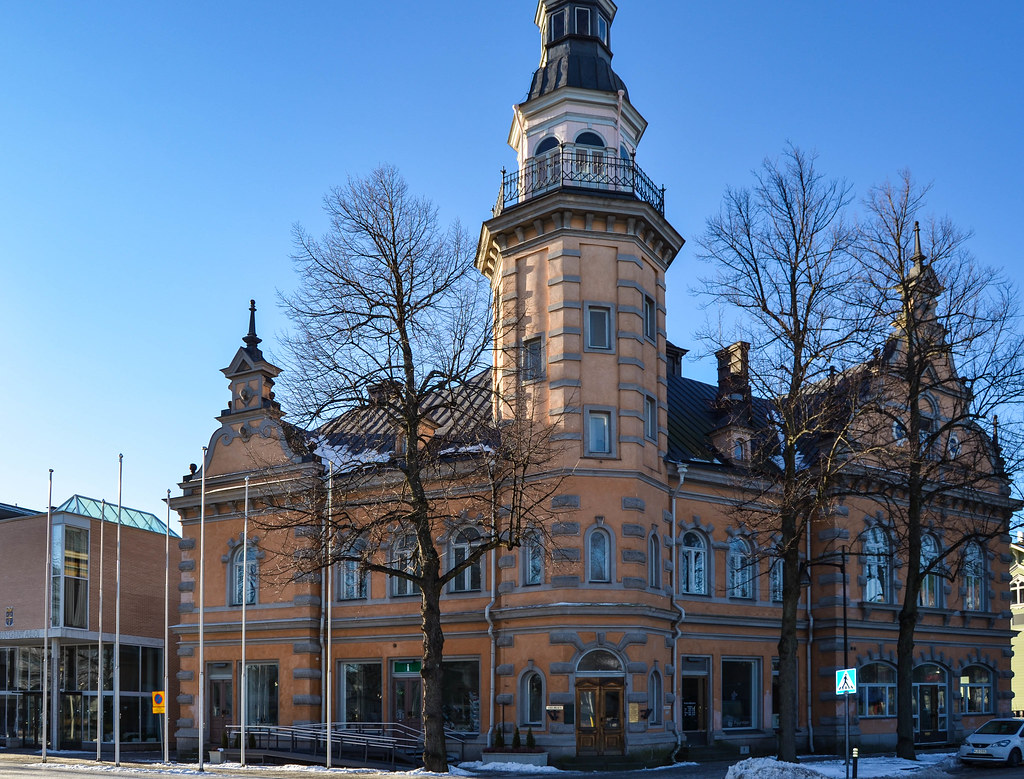 The old and new town halls of Rauma
