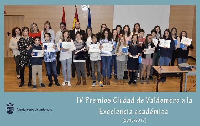 Premios a la excelencia académica 2017