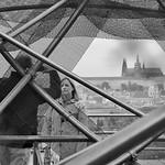 Prague, de la terrasse de Ginger et Fred