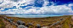 Argentino Lake (Lago Argentino), El Calafate, Patagonia, Argentina / SML.20151127.6D.34509-34519.Pano.E1