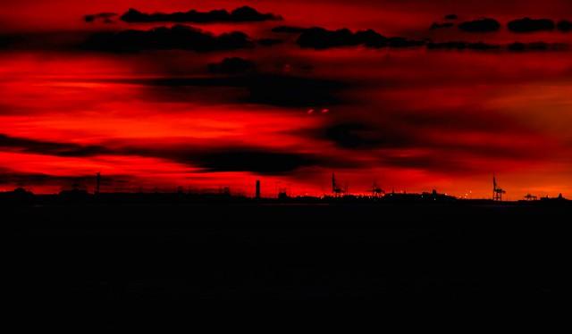 Fire in the sky....