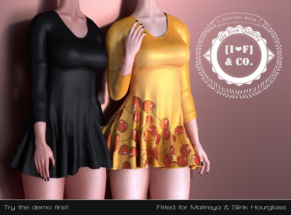[I<3F] Dress [17] @The Cookish Fair - TeleportHub.com Live!